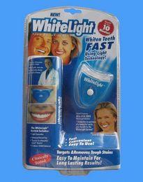 Wholesale LED WhiteLight kit Teeth Whitening System Kit Tooth Cleaner Whitelight New Dental Oral Care Whitening System Kit