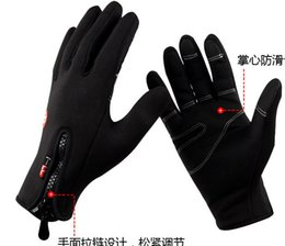Wholesale 100 Windproof Outdoor Sports Gloves Tactical Mittens for Men Women in Winter Feel Warm Bicycle Cycling Motorcycle Hiking Skiing
