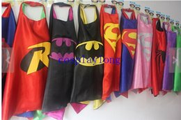 Wholesale frozen ninja turtle SUPERHERO CAPES Superman Batman Spider man Supergir Spidergirl Batgirl Flash Robin Halloween