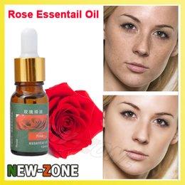 Wholesale Morocco Pure Rose Essential Oil Whitening Spots light hydrating moisturzing Women Skin Care Rose Damascena ML
