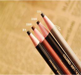 Wholesale 8pcs New Long Lasting Colorful Eyebrow Pencil Coffee Eye Brow Pen Eye Beauty Y7722