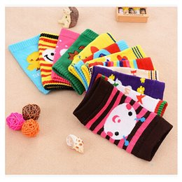 Discount baby protector cap Baby Leg Warmers Knee Cap Baby Socks Winter Cotton Knee High Socks Sleeve Knee Infant Knee Pads Protector Toddler Girl Legging Socks m0862