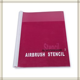 Wholesale Patterns of the hybrid designs for the Temporary Airbrush Tattoo Stencil Template Booklet