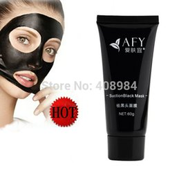 Wholesale blackhead remover Deep Cleansing the Black head acne treatment black mud face mask
