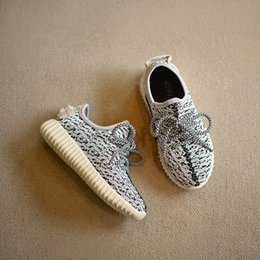 Wholesale 2016 New Kids Yeezy Running Shoes Snakers Kanye West Yeezy boost Baby Fashion Yeezys Shoes Size No Logo