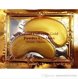 Wholesale 5000 Pairs Hot Brand New Crystal Collagen Gold Powder Eye Mask Crystal Eye Mask