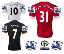 Wholesale Top Thai Short Sleeve Jersey Futbol Camisa Man Shirt Camiseta Utd Maillot Manchestion Uniteds