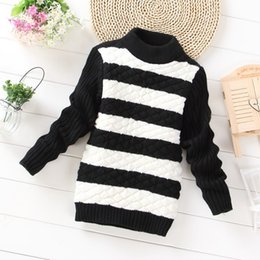 Wholesale Little Baby Girls Sweaters For Spring Autumn New Arrival Cartoon Cut Cat Sweet Long Sleeve Children Sweaters Pullover Clothing