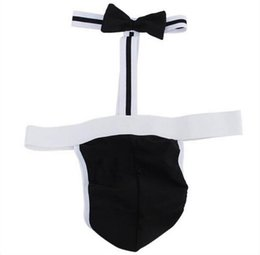 Wholesale 2016 Sexy Mens Lingerie sexy one pieces bowtie underwear Lin Tai Open Fork And Exposed Breast GAY love Stagewear MonoNIKI clubwear Uniform