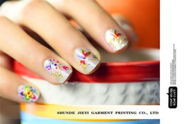 Wholesale New Beautiful Girl Nail Stickers DIY nail stickers nail stickers love the new colorful explosion models Ms Supplies