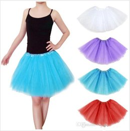 Wholesale 2015 color dance Costume Ball gown Christmas Party stage wear Dresses Women Girl Tutu Ballet Dancewea Bubble Skirts Pettiskirt BBA3440
