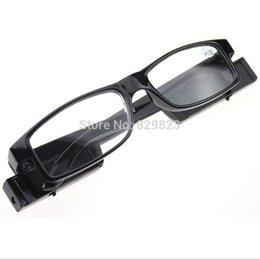 Wholesale 500PCS Led Reading Glasses Reading Glass with LED Light glasses power freeshipping