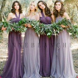Wholesale 2015 Fairy s Junior Bridesmaid Dresses Strapless Style Women Wedding Dress Various Wear Ways Gauze Material Dresses Party Evening