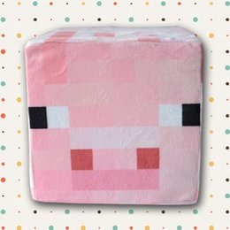 Wholesale 20 cm AAA quality New Arrival Minecraft Pillow Cushion Minecraft Toys Minecraft creeper Plush dolls Toys