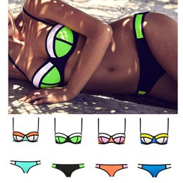 Wholesale 2015 Newest Super Women Sexy Bikini Swimwear Triangle Fashion Swimsuit Set Push Up Beachwear Color