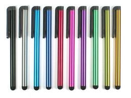 Écran capacitif Stylet haute sensibilité tactile Pen Pour 100pcs iPhone6 6Plus Iphone5 4 SamsungGalaxyS5 S4 Note4 Note3 Livraison gratuite