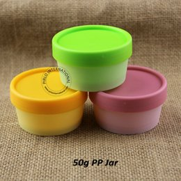 Wholesale 30pcs Promotion ml Empty Plastic Jar With Lid Cosmetic Packaging For Beauty Mask Face Hand Cream Vial Pot Portable Small Containers