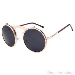 stylish frames for men's glasses ihrr  Hot Sale Summer 7 Colors Vintage Cat Eye Sunglasses Stylish Women Eyewear  Semi-Rimless Sun Glasses Super Round Glasses for Men