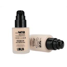 Wholesale UBUB liquide BB Cream Secouer Teint Poudre Maquillage étanche Perfect Skin Cover Concealer CC Crème cosmétique