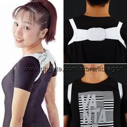 Wholesale Free DHL Posture Corrector Body Back Support Shoulder Braces Supports Belt Posture Corrector