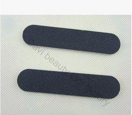 Wholesale nail file nail art black mini nail file