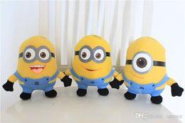 3pcs / set Despicable Me film Peluche 18cm Minion Minions jouets en peluche avec des étiquettes livraison gratuite