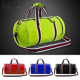 Hot Sell Outdoor Sport Multifunction PU Gym Fitness Training Shoulder Bag Travel Tote bags Duffel Bags