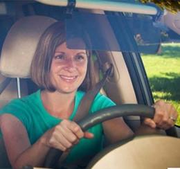 Дешевые Цена HD с антибликовым покрытием Ослепительная Goggle день Автомобиль Зонт ночного видения вождения Зеркало Солнцезащитные козырьки