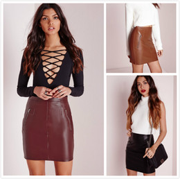 Ladies Leather Mini Skirts Online | Sexiest Ladies Leather Mini ...