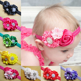 Wholesale Girls Headbands Infant Headbands Baby Headbands Children Hair Accessories Kids Hair Flowers Hair Band Childrens Accessories