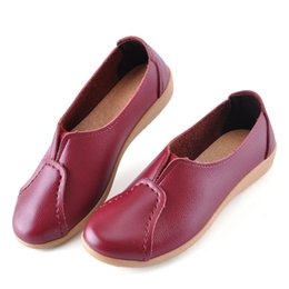Leather Casual Comfort Shoes Women Online | Leather Casual Comfort ...