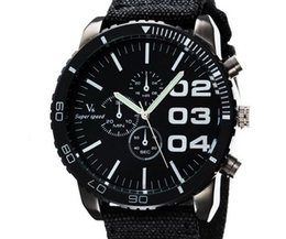 big faced watches online mens big faced watches for 2015 arrivals v6 fashion casual quartz men watch big face wristwatch dropship fabric clock fashion hours dress watch christmas gift