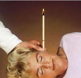 индийский Ушные свечи Supreme с Earplug - Ароматы уха Свеча спикер Тип 8 Цвет бесплатная доставка EMS # 6724