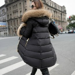 Discount Womens Down Coats Fur Hood | 2017 Womens Down Coats Fur ...