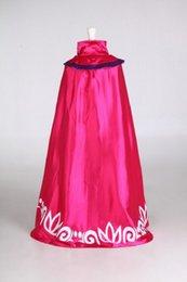El nuevo cabo de las mangas de Elsa del vestido del otoño del traje de la danza de la muchacha del vestido de partido del capote del vestido del tutú 100pcs 2015 nuevo