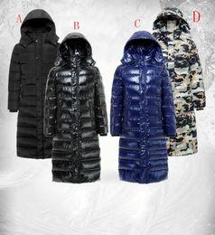 Wholesale Mens Warm Parka Fur Collar inverno grosso pato branco Down casaco Outwear Down Jacket quatro estilos inverno casacos para homens