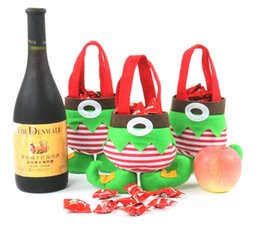 Wholesale 2015 Fashion Christmas Decoration Supplies Candy Apple Gift Bag Christmas Decorations For Home Party New Year