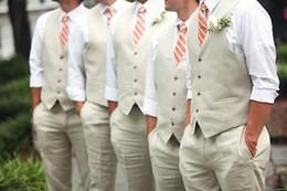 Wholesale New Arrival Cheap Groom Vests Formal Men s Waistcoat Custom Made Groom Tuxedos Wear Bridegroom Vests Casual Slim Vest Jacket C863