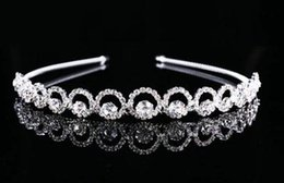 Wholesale Wedding Tiaras Hair Band Crystal Pearl Mix Crown New Arrival PC B8