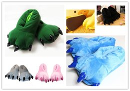 Wholesale Hot Six color Furry Claws Cartoon Cotton Shoes Brand New high quality best service best price B6041