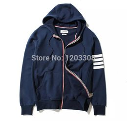 Wholesale hot selling brand new THOM BROWN men s women Casual hooded Pullover sweatshirts hoodies coat