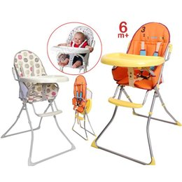 Wholesale Children dining chair portable can Folding Rinse multifunction portable baby dinner table Hot sale