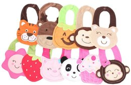 Wholesale 2015 Multi Style Kids Baby Unisex Cotton Waterproof Cartoon Bibs Animal Saliva Towel