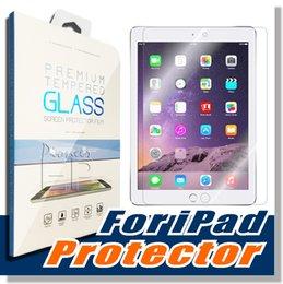 Para iPad mini 4 iPad Mini 2/3 iPad Ar de vidro temperado Screen Protecter Screen Guard para Ipad Air 2/3/4 com 9h Dureza Ultra-thin 0.4mm