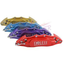 Xpower ENDLESS Тормозной суппорт Обложка (24см), Алюминий Материал -красный, желтый, синий, фиолетовый