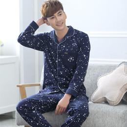 Discount Mens Cotton Pajamas   2017 Mens Pajamas Xl Cotton on Sale ...