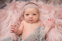 Wholesale 75 cm quot x20 quot Faux Fur Blanket Basket Stuffer Mongolia Fur Photography props Newborn Photography Props