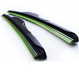 DHL livre Car Wiper Blade, Borracha Natural Car Wiper auto-brisa suave limpador qualquer tamanho 2 escolha 14-24in in Stock