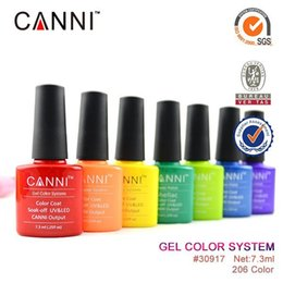 Wholesale 24PCS High quality Soak Off LED UV Nail Gel CANNI Gel Color System Nail Polish Gel