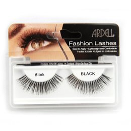Wholesale Ardell Human Hair Thick Long False Eyelash Brand Fashion Lash Blink Black Full Strip Fake Lashes Makeup Tool Freeshipping